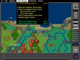 V for Victory: Gold-Juno-Sword DOS Options available through the top toolbar