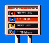 Lee Trevino's Fighting Golf NES Select your player