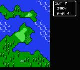 Lee Trevino's Fighting Golf NES Overview of the course