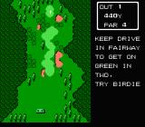 Lee Trevino's Fighting Golf NES Nassau mode: you have a goal at each course