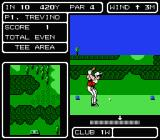 Lee Trevino's Fighting Golf NES Getting ready...