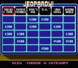Jeopardy! 25th Anniversary Edition NES Choose your topic!