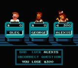 Jeopardy!: 25th Anniversary Edition NES Bad luck, Alexis!