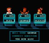 Jeopardy!: 25th Anniversary Edition NES George gives the correct answer