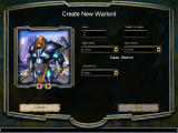 Warlords IV: Heroes of Etheria Windows Warlord creation