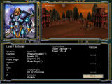 Warlords IV: Heroes of Etheria Windows Warlord selection
