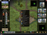 Warlords IV: Heroes of Etheria Windows Menu and city production