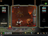 Warlords IV: Heroes of Etheria Windows Fighting enemies