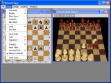 Virtual Chess Windows Game menu