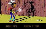 Lucky Luke Atari ST Main Screen with Companies