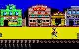 Lucky Luke Atari ST Shooting bandits on the streets...