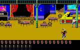 Lucky Luke Atari ST The bandit shoots you in the Saloon...