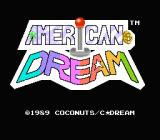 American Dream NES Title screen