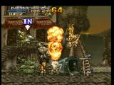 Metal Slug: Super Vehicle - 001 PlayStation Before to free a hostage and to ride Metal Slug, Marco must take care with tanks and armored cars...