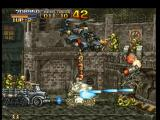 Metal Slug: Super Vehicle - 001 PlayStation Even attacked by a helicopter and surrounded by soldiers, Metal Slug continues the shooting round!