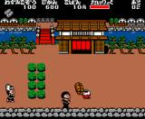 Ganbare Goemon! Karakuri Dōchū MSX Player two plays as Yebisumaru