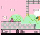 Asmik-kun Land NES I'd rather stop to eat some eggs before this green guy kills me with the balls he spits out