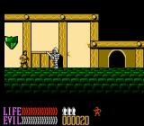 Wizards & Warriors III: Kuros - Visions of Power NES Visiting the thief guild in order to become a better thief