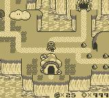 Super Mario Land 2: 6 Golden Coins Game Boy Map of the Land
