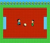 Bakushō! Star Monomane Shitennō NES Ball-playing mini-game