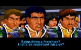 Wing Commander II: Vengeance of the Kilrathi DOS Complaining about a boring mission. (MCGA/VGA)
