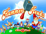 Hammer Heads Deluxe Windows Title screen