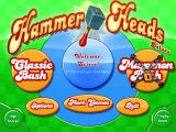 Hammer Heads Deluxe Windows Main game screen