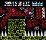 Ninja Gaiden III: The Ancient Ship of Doom NES In stage 4-2, rows of spikes protrude from ceilings, floors, and walls but retract periodically