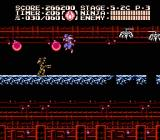 Ninja Gaiden III: The Ancient Ship of Doom NES More stage 5-2 action, cruising along a long hallway