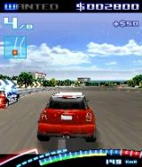 Asphalt: Urban GT 2 N-Gage When there is a reward on you, the police will try to stop you...