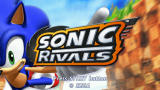Sonic Rivals PSP Title screen