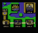 Toxic Crusaders NES Level map