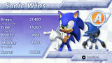 Sonic Rivals PSP Race results