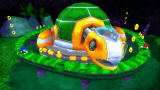 Sonic Rivals PSP 1st boss – Egg Turtle. You must hit it on the head to win.