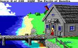 King's Quest IV: The Perils of Rosella DOS SCI: A house on the sea