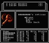 Wizardry: Legacy of Llylgamyn - The Third Scenario NES Random encounter