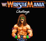 WWF Wrestlemania Challenge NES Title screen