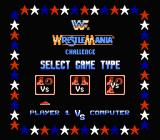 WWF Wrestlemania Challenge NES Select game type.
