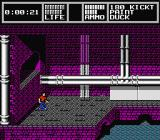 Skate or Die 2: The Search for Double Trouble NES Entering the purple sewers.