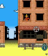 Lucky Luke: Outlaws J2ME First level: a countdown of five seconds has just been started.