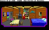 King's Quest IV: The Perils of Rosella DOS SCI: Inside a house