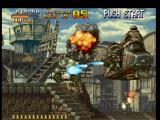 Metal Slug: Super Vehicle - 001 PlayStation Located in a platform mid-section, Metal Slug starts to shoot against General Morden's helicopter...