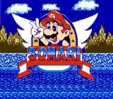 Somari the Adventurer NES Title screen