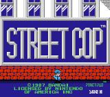 Street Cop NES Title screen