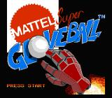 Super Glove Ball NES Title screen