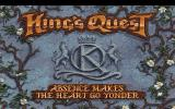 King's Quest V: Absence Makes the Heart Go Yonder! DOS Title screen (MCGA/VGA)