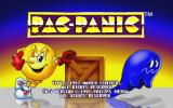 Pac-Attack CD-i The title screen.