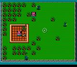 Rampart NES The hardest scenario. Enemies threaten to conquer the fortress