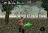 Virtual Hydlide SEGA Saturn Beating up some slimes.