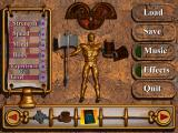 Druid: Daemons of the Mind DOS Inventory screen